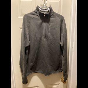 Zoo York men's XL grey half zip sweatshirt
